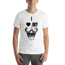 Load image into Gallery viewer, I<3MYBeard Short-Sleeve Unisex T-Shirt