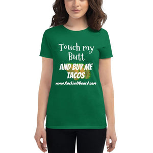 AltButtTacos Women's short sleeve t-shirt - Rockin D Beard
