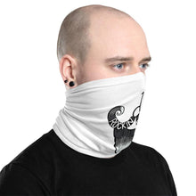 Load image into Gallery viewer, White Rockin D Beard Neck Gaiter - Rockin D Beard