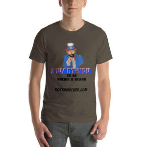 UncleBeard Short-Sleeve Unisex T-Shirt