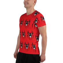 Load image into Gallery viewer, Spider Beard All-Over Print Men's Athletic T-shirt