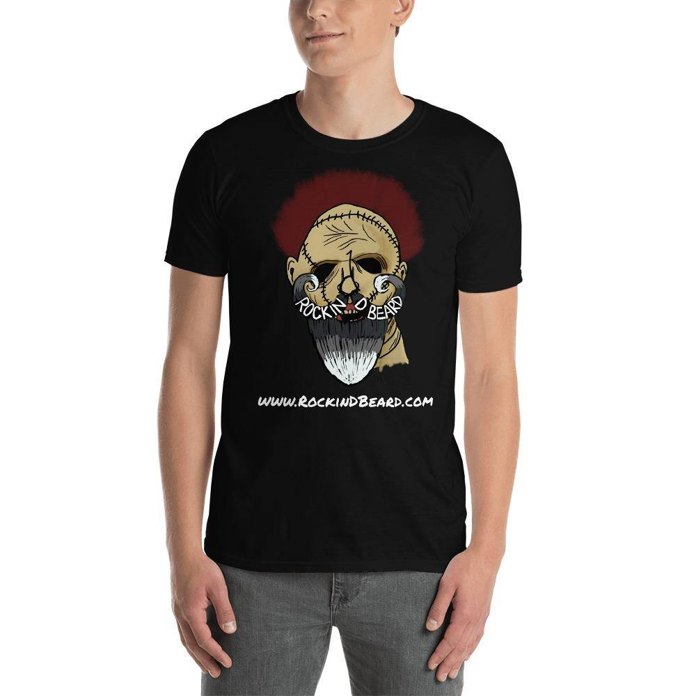 Leather Beard Short-Sleeve Unisex T-Shirt - Rockin D Beard