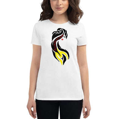 RockinMHair Women's short sleeve t-shirt