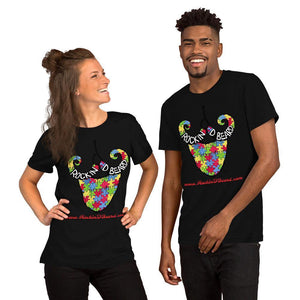 Rockin D Supports Autism Short-Sleeve Unisex T-Shirt