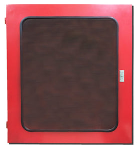 HOSE CABINET WITH STAND - RED