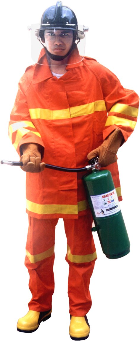 TRAINING FIRE SUIT - ORANGE