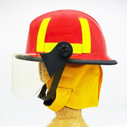 KEVLAR FIRE HELMET - RED