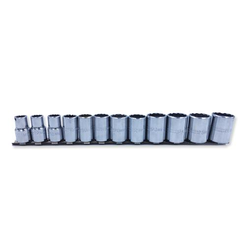 3/8 DRIVE 12 PC. METRIC SOCKET SET