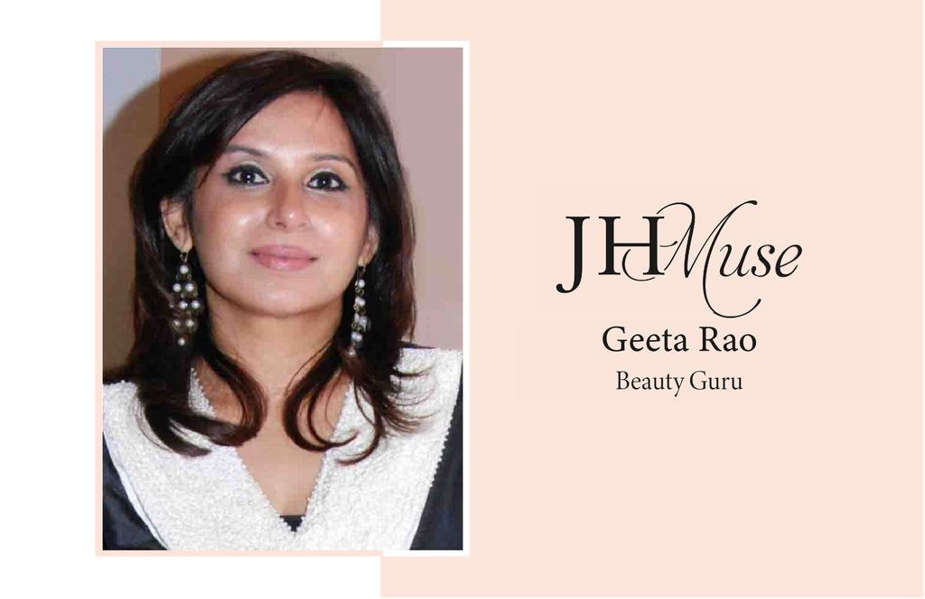 BEAUTY GURU GEETA RAO SHARES HER SKINCARE RULES