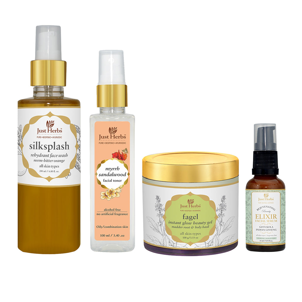 Just Herbs Combination Skin Essentials (Value ₹3260)