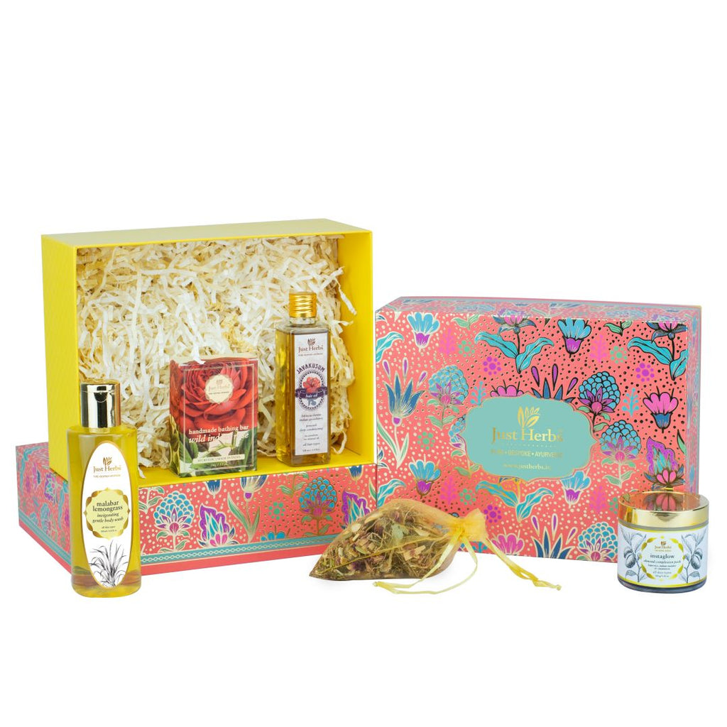 Just Herbs Diwali Gift Set (Value ₹2220)