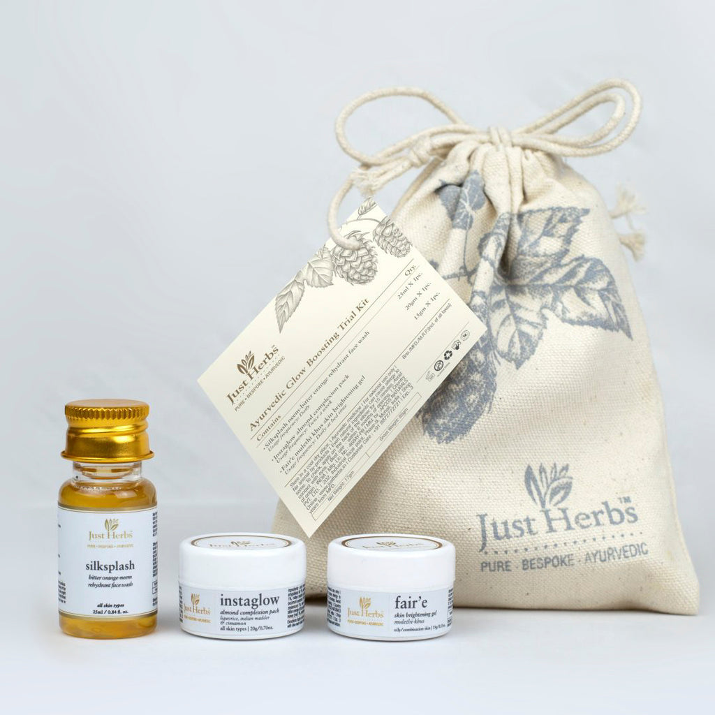 Ayurvedic Glow Boosting Trial Kit
