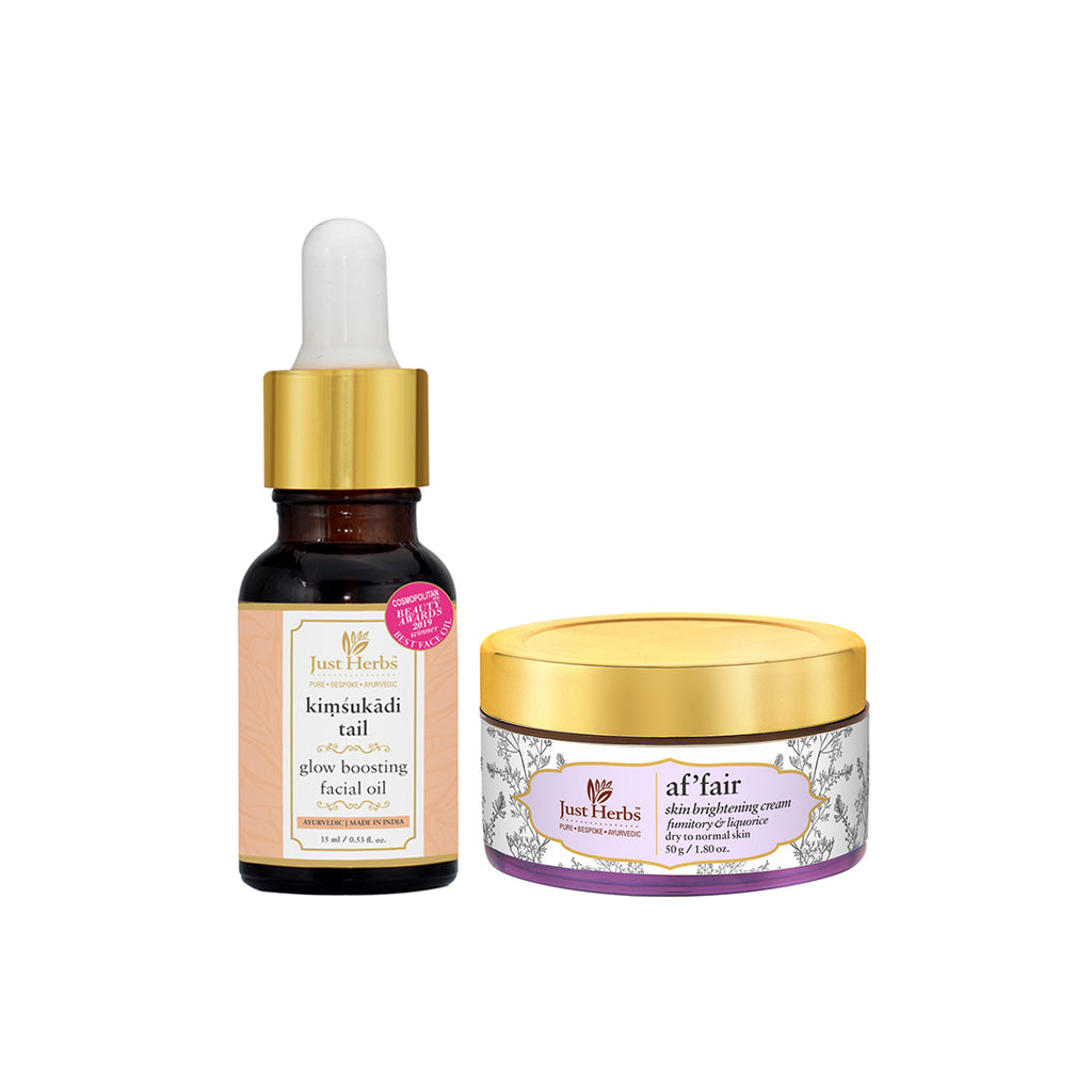 Glow Boosting Night-Routine for Normal/Dry Skin (Value ₹2440)