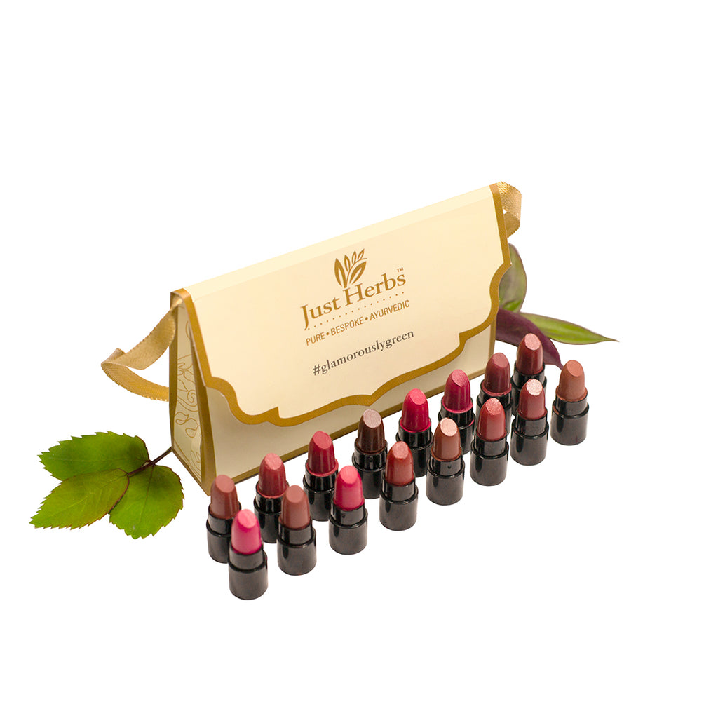 Herb Enriched Ayurvedic Lipstick - Micro-Mini Trial Kit
