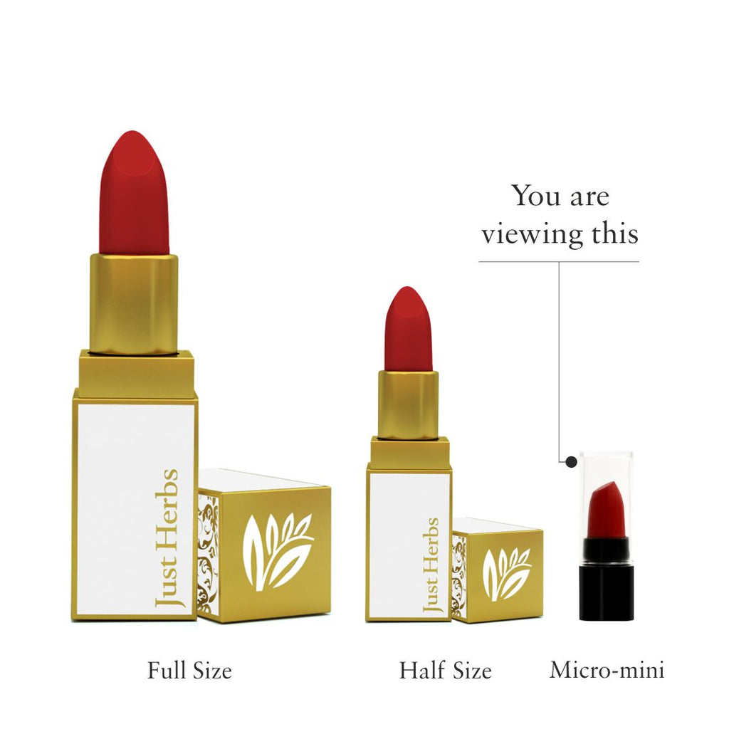 Herb Enriched Ayurvedic Lipstick Shade Sampler Kit