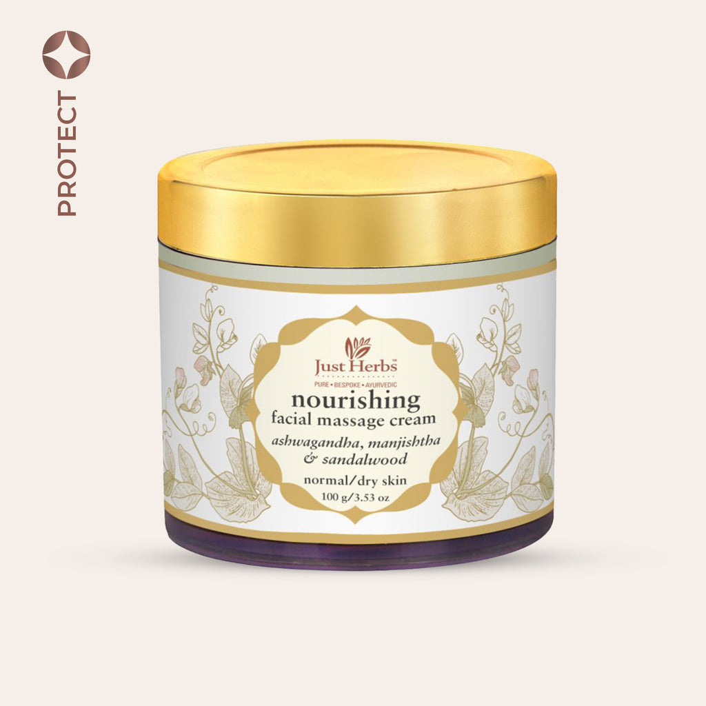 Herbal Nourishing Massage Cream