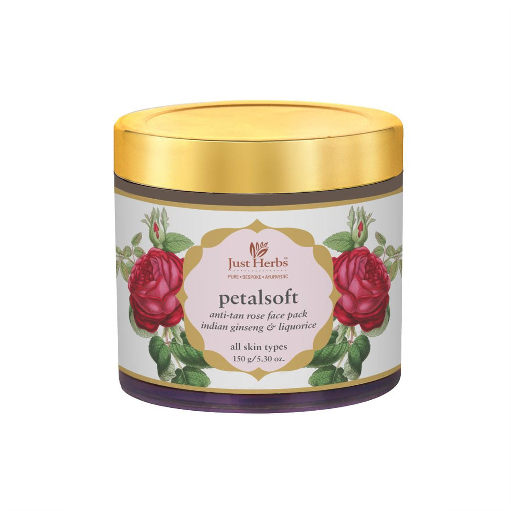 Petalsoft Anti-tan Rose Face Pack