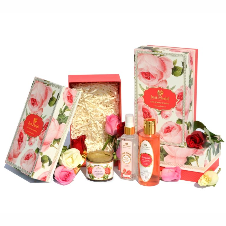 Just Herbs Rose Essentials Gift Set