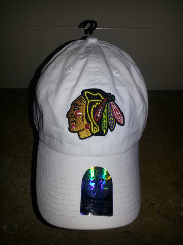 15 CHICAGO BLACKHAWKS WHITE FITTED CHINO
