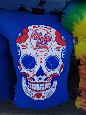 Chicago Cubs Sugar Skull Shirt