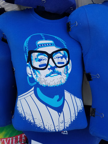 Wrigley Field Chicago Cubs Bill Murray Harry Caray Glasses