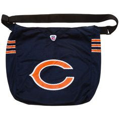 Bears jersey purse big