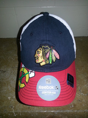 30 CHICAGO BLACKHAWKS REDBILL FITTED REEBOK