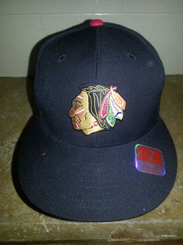 43 CHICAGO BLACKHAWKS MITCHELL NESS FITTED