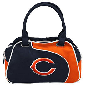 Chicago Bears Perf Bowler Bag Purse