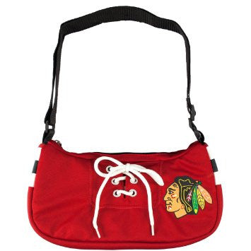 Blackhawks jersey purse small