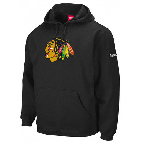 Chicago Blackhawks black face hoodie
