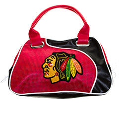 Chicago Blackhawks Perf Bowler Bag Purse