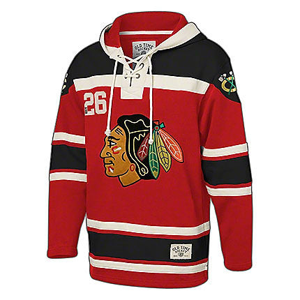 db063cd88d10 ... sale chicago blackhawks jersey hood by old time hockey kane d9bd3 adbec