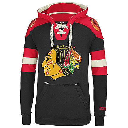 Chicago Blackhawks red wintage hoodie