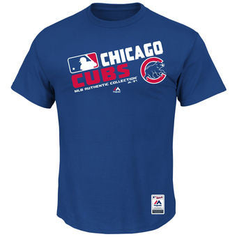 Chicago Cubs Majestic Royal Team Choice T-Shirt