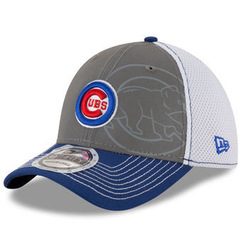 Chicago Cubs Gray/Royal Shadow Flect Neo 39THIRTY Flex Hat