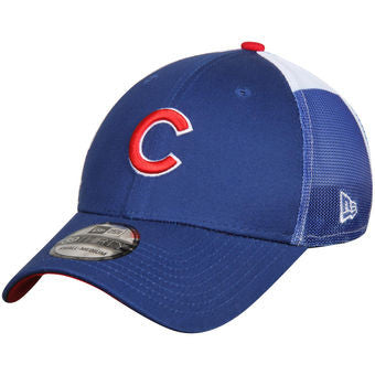 Chicago Cubs New Era Royal Logo Wrapped 39THIRTY Flex Hat