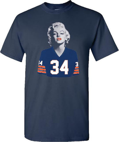 Marilyn Monroe Bears Navy Blue
