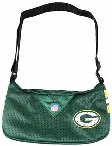 Green Bay jersey purse small