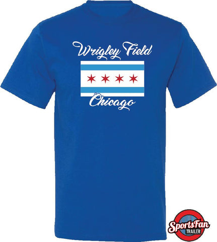 Wrigley Chi Flag Chicago
