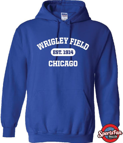 Wrigley Field EMBROIDERED hoodie