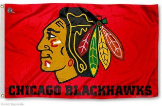 Chicago Blackhawks Flag 3x5