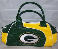 Greenbay Packers Perf Bowler Bag Purse