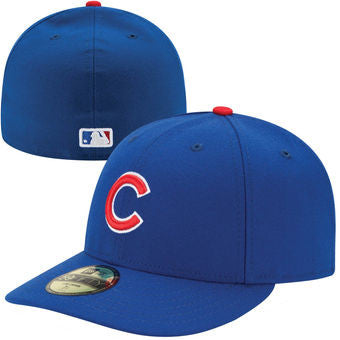 CHICAGO  CUBS  FITTED AUTHENTIC TWINS HATS