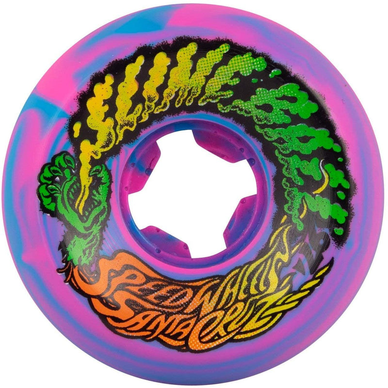 Slime Balls - Vomit Mini 56mm Blue Pink Swirl 97A Wheels