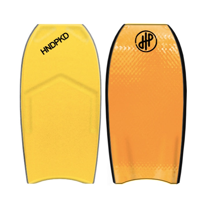 "HandPicked - 42"" Bodyboard (Yellow/Orange)"