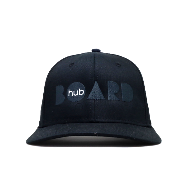 Boardhub - Trucker Cap (Grey/Black)