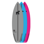 5'0'' Rockstar Performance Soft Top Surfboard - 23.6L