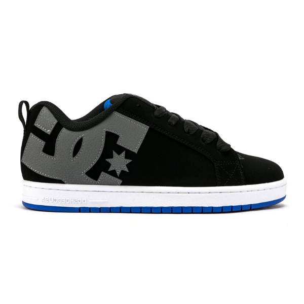 DC - Court Graffik (Black/Grey/Blue)