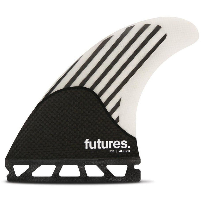Futures - Techflex Firewire (M) Thrusters (White/Carbon)